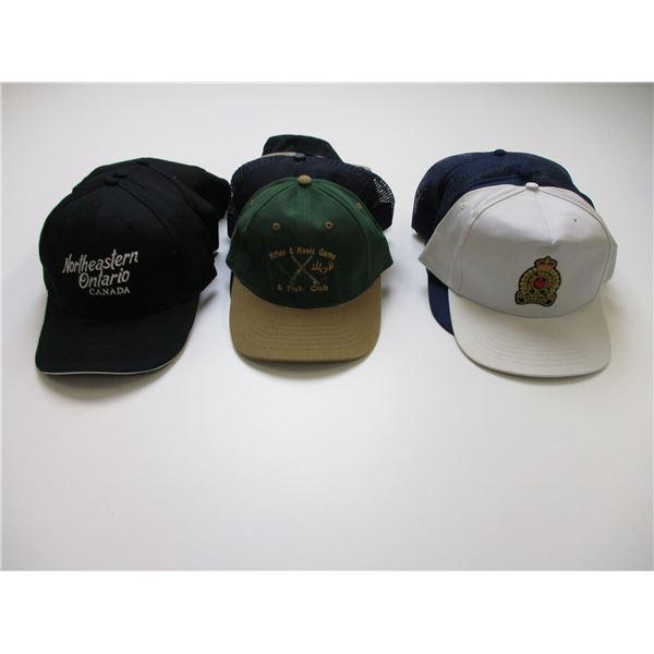 ASSORTED RANGE & CLUB HATS