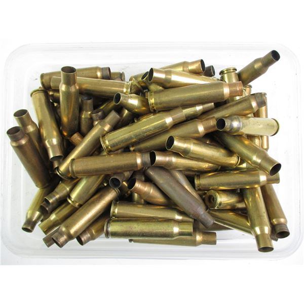 ASSORTED RIFLE BRASS CASES