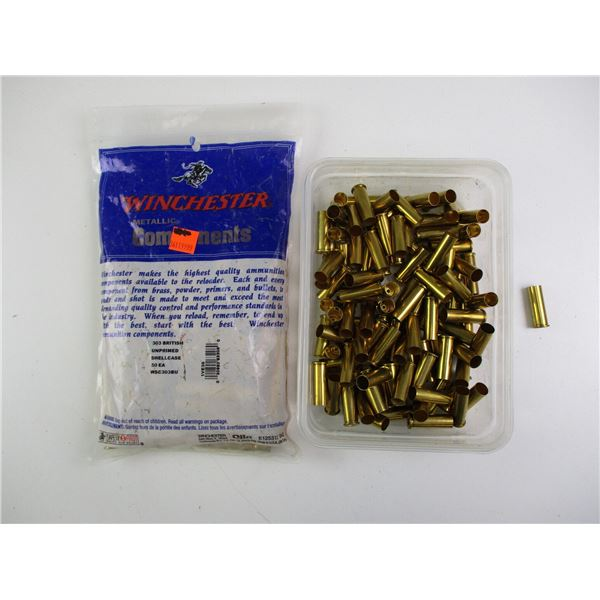 ASSORTED NEW BRASS CASES