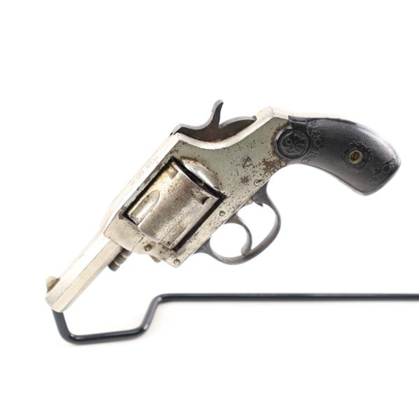 IVER JOHNSON  , MODEL: 1900 DOUBLE ACTION  , CALIBER: 38 S&W