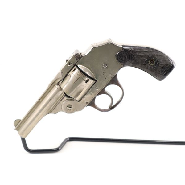 IVER JOHNSON  , MODEL: SAFETY HAMMERLESS AUTOMATIC  , CALIBER: 38 S&W