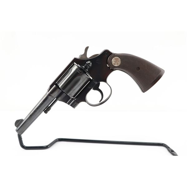 COLT , MODEL: POLICE POSITIVE SPECIAL , CALIBER: 38 S&W, NOTED AS COLT 38 N.P.