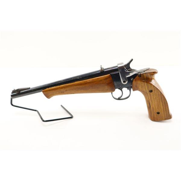 HOMEMADE , MODEL: SINGLE SHOT CARTRIDGE PISTOL  , CALIBER: 22 LR