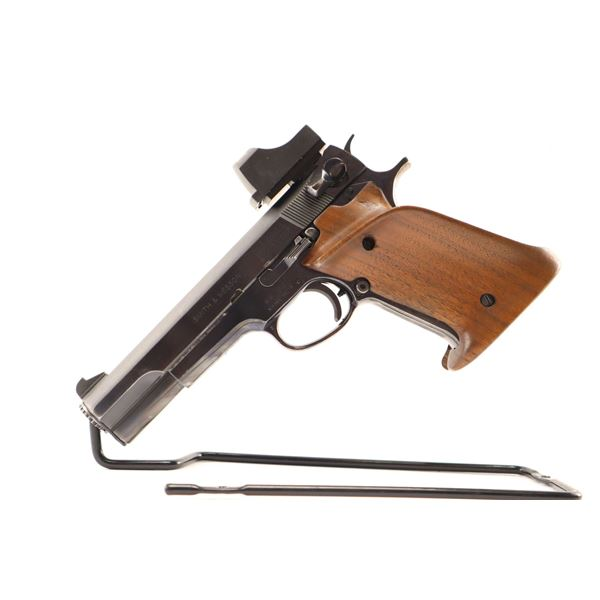 SMITH & WESSON  , MODEL: 52-1 , CALIBER: 38 SPL (38 WAD CUTTER )