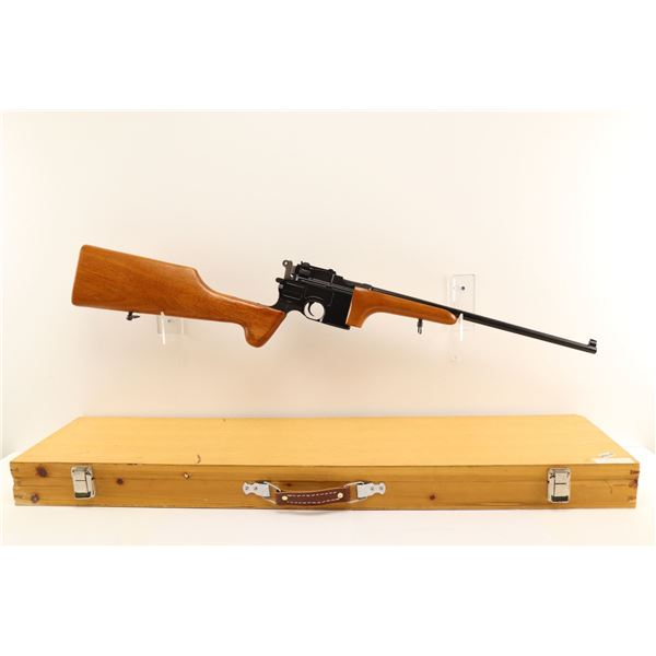 MAUSER, MODEL: NAVY ARMS REPRODUCTION CARBINE 96 BROOMHANDLE, CALIBER: 7.63 MAUSER