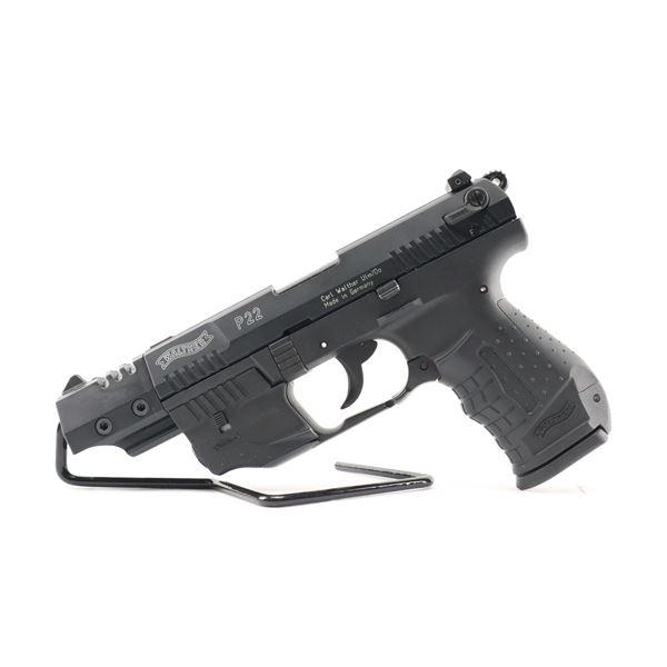 WALTHER , MODEL: P22 TARGET , CALIBER: 22 LR