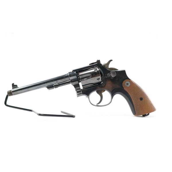 SMITH & WESSON  , MODEL: PARKER HALE 22 CONVERSION FROM A S&W 38 HAND EJECTOR M&P  , CALIBER: 38 RE