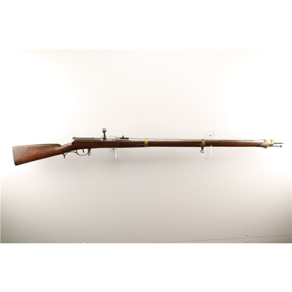 PRUSSIAN DREYSE , MODEL: 1841 NEEDLE RIFLE , CALIBER: 15.3MM