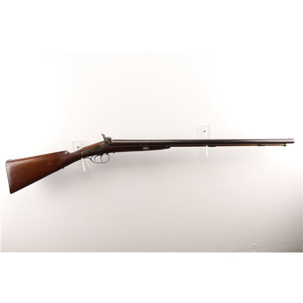 UNKNOWN , MODEL: SIDE BY SIDE PERCUSSION , CALIBER: 12 GA