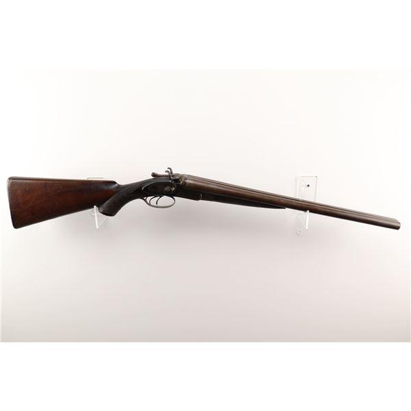 """H SPENCER & CO. , MODEL: SIDE BY SIDE HAMMER GUN , CALIBER: 12GA X 2 5/8"""""""