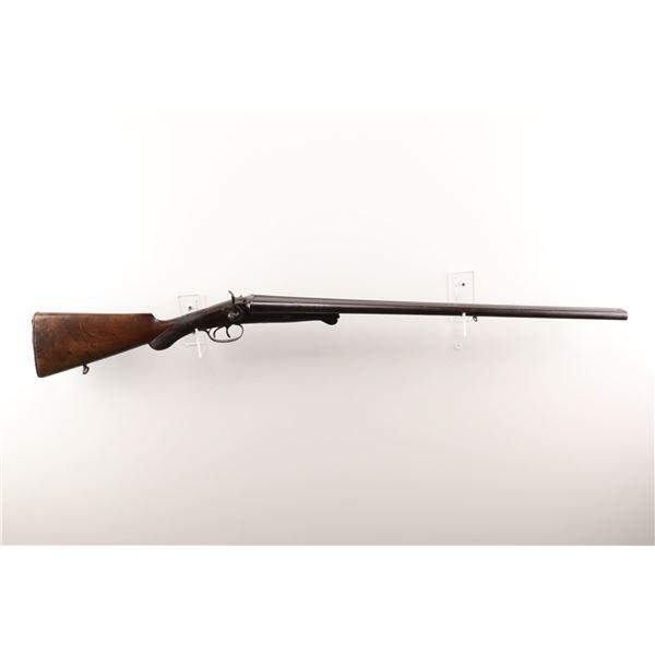 """LIEGE BELGIUM , MODEL: UNDER LEVER HAMMER GUN , CALIBER: 16GA X 2 1/2"""""""