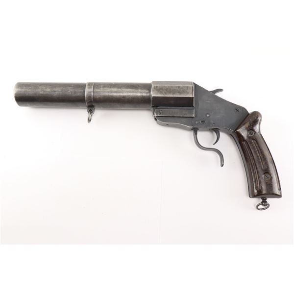 SWISS FLARE GUN , MODEL: 1935 , CALIBER: 35MM
