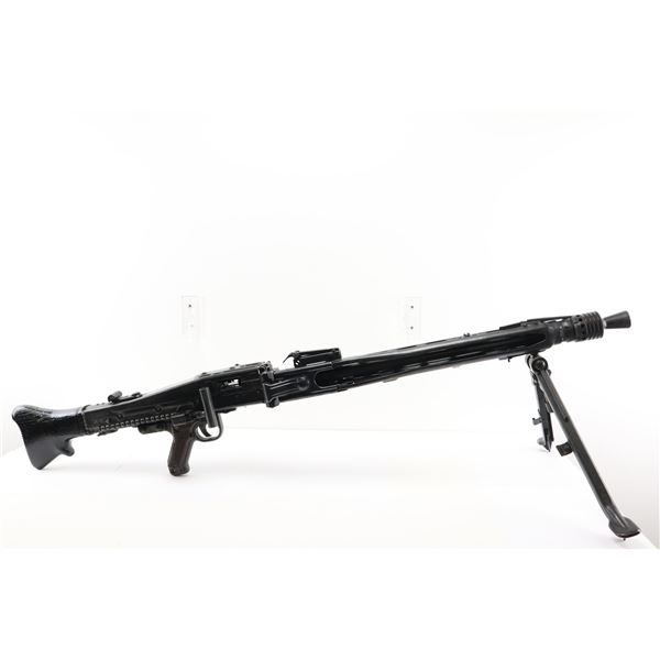 WWII GERMAN  , MODEL: MG42 MACHINE GUN , CALIBER: 8MM MAUSER