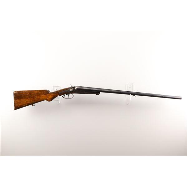 "HUSQVARNA , MODEL: UNDER LEVER HAMMER GUN , CALIBER: 12GA X 2 5/8"""