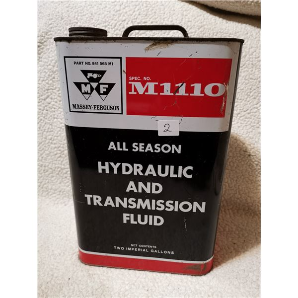 Massey fluid tin can