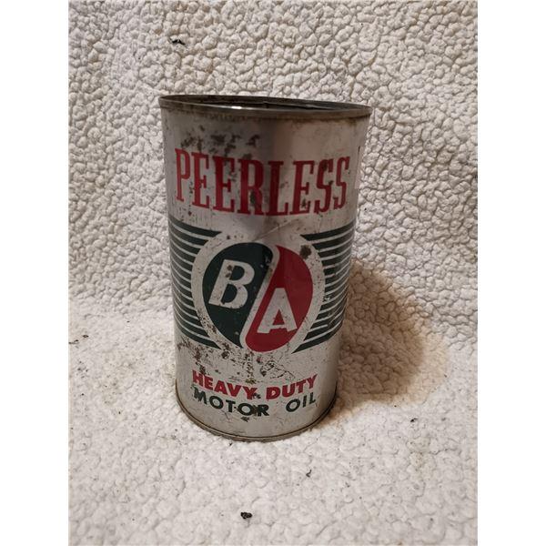 B/A Peerless oil tin