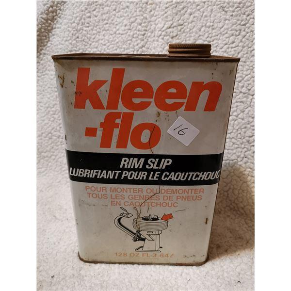 Kleen-Flo cream seperator lubricant tin