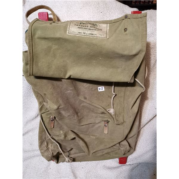 Pioneer Nelson Trapper Nelson backpack, old