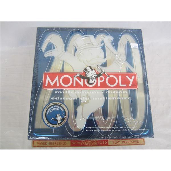 SEALED MILLENIUM MONOPOLY GAME/
