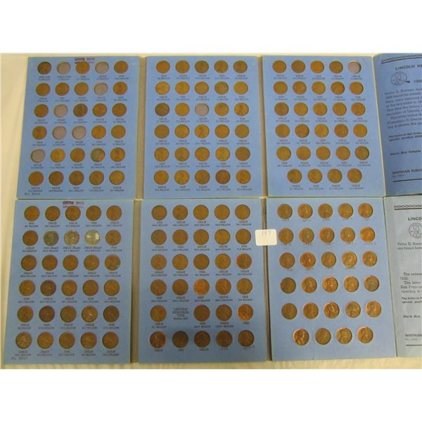 2 Books of Lincoln Pennies 1909-1970 Some Good Ones