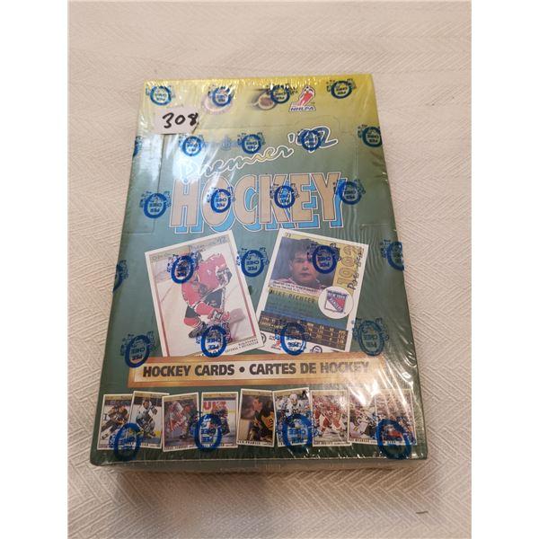 Premier 92 O-Pee-Chee full box hockey cards