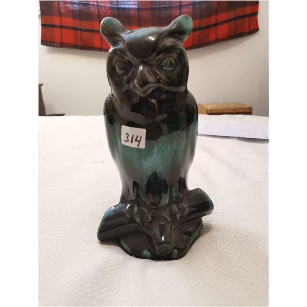 Owl pottery 5 X 9