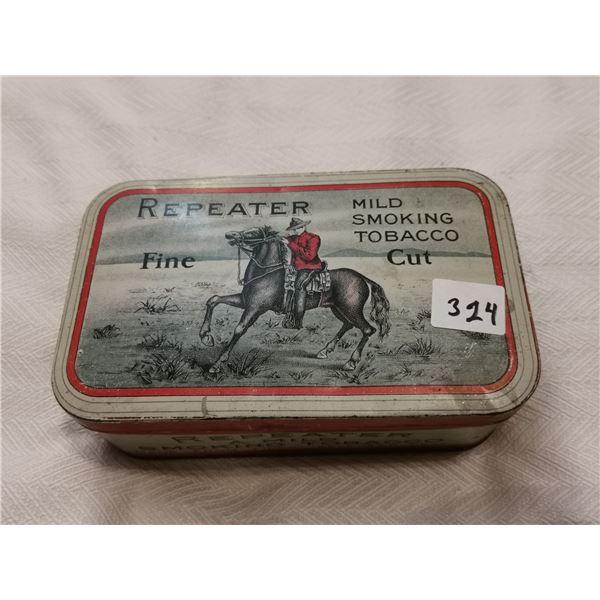 """Repeater tobacco tin 3.5"""" X 3"""""""