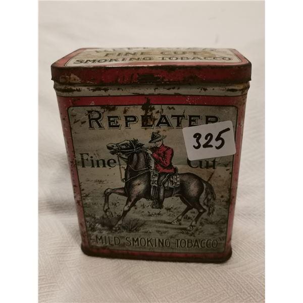 Repeater tobacco tin 6 X 4 X 2