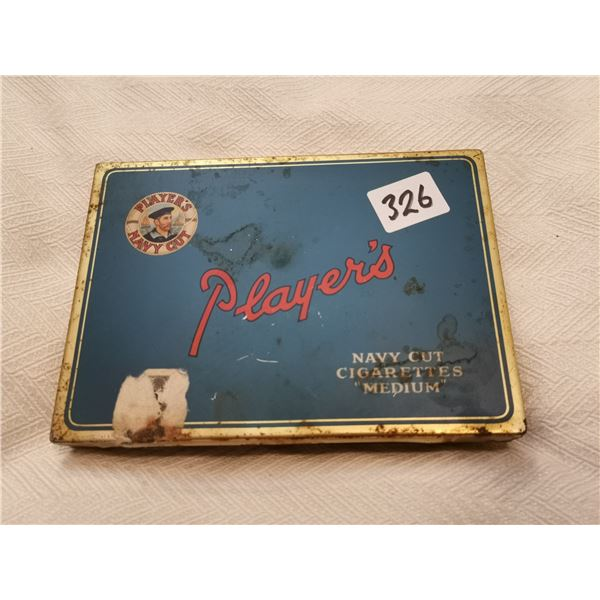 Players cigarette tin 4 X 2 X 5