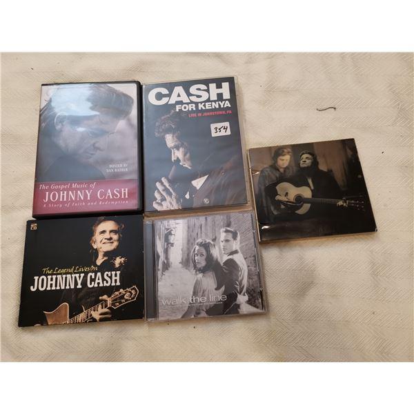 Johnn Cash CD's & DVD's