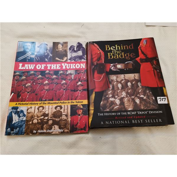 2 RCMP books