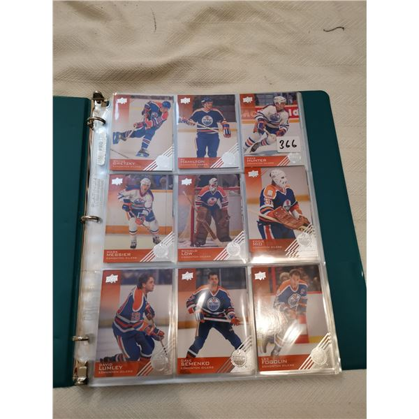 Upper Deck Oilers players cards 2013