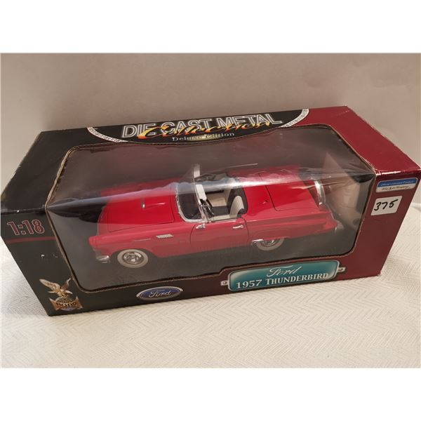 1957 Ford Thunderbird 1:18 scale die cast