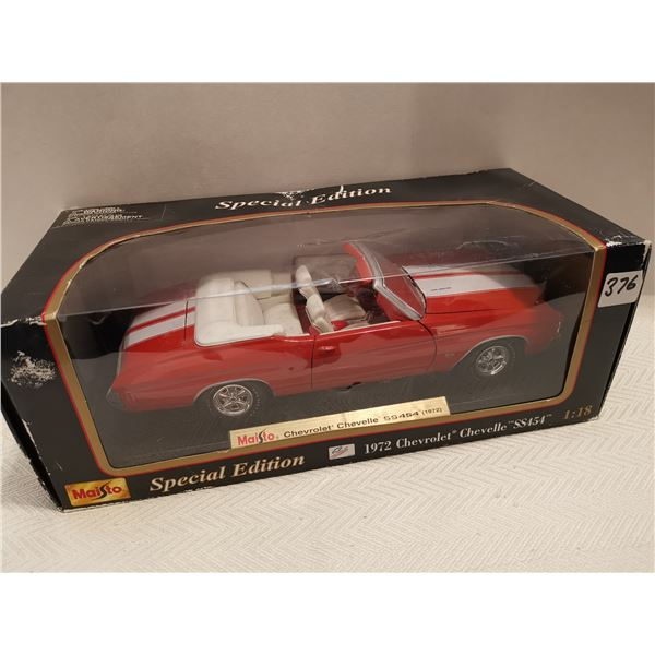 1972 Chevrolet Chevelle SS454 1:18 scale die cast
