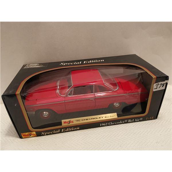 1962 Chevrolet belair 1:18 scale die cast