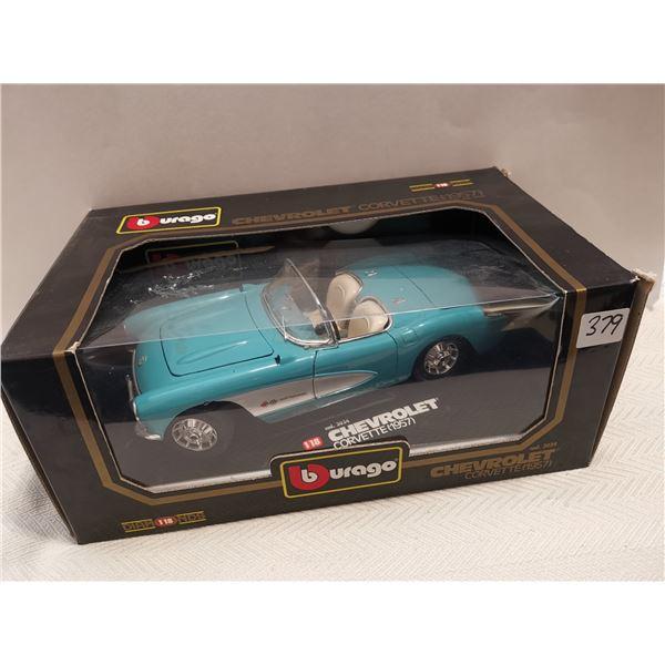 1957 Chevrolet Corvette 1:18 scale die cast