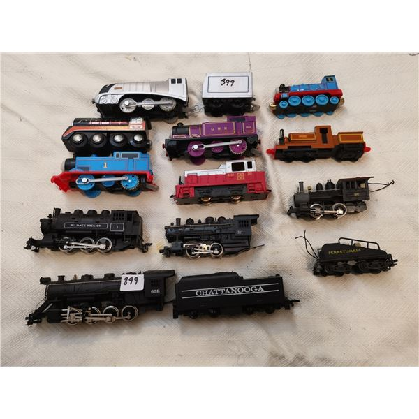 Different train engines Thomas trains & others