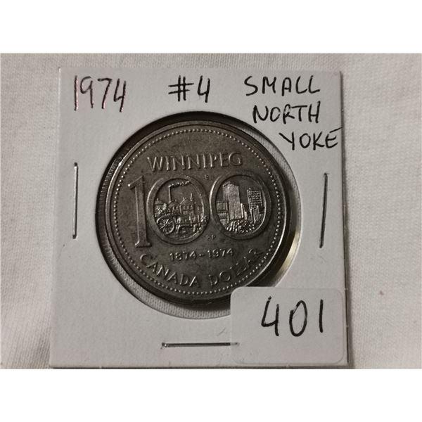 #4 small North Yoke 1974 dollar