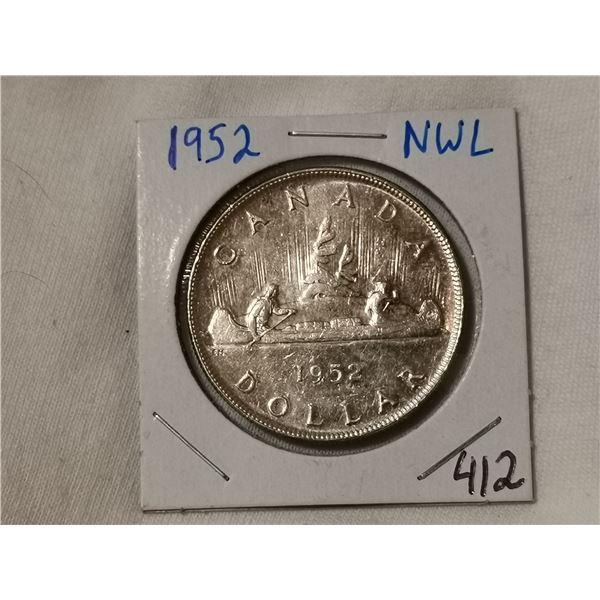 1952 NWL silver dollar