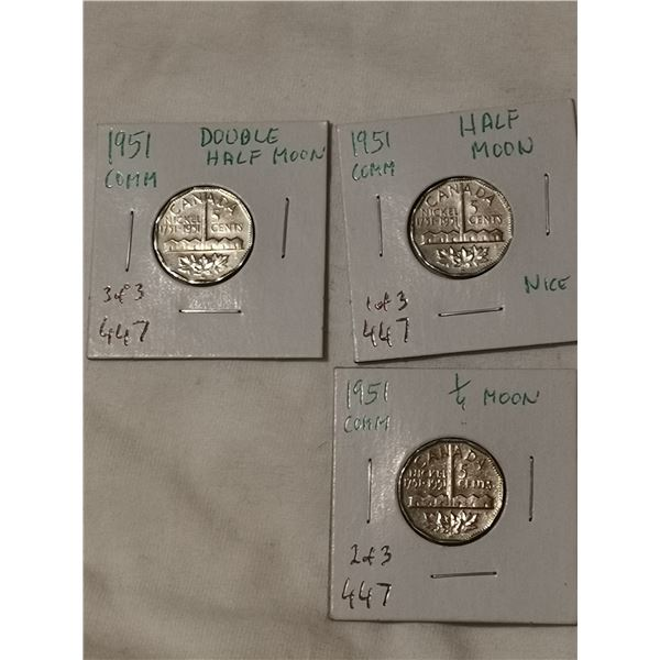 1951 three different moon errors