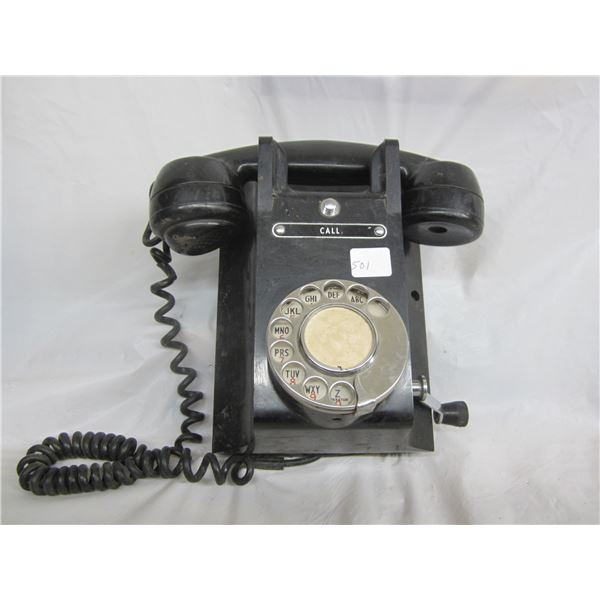 Crank Bakelite Phone