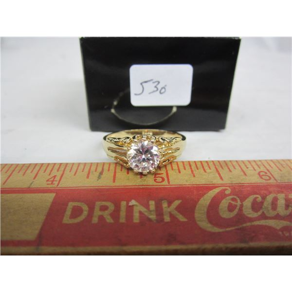 Gold Plated Ladies Ring