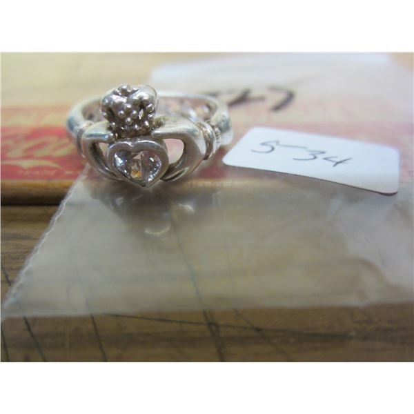 Ladies Sterling Ring
