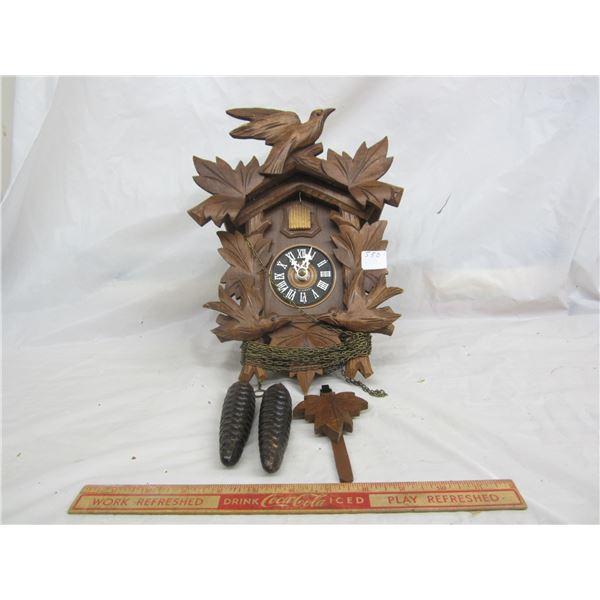 Cuckoo Clock as is