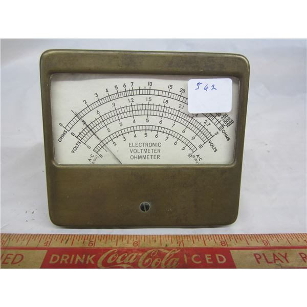 Electronic Volt Meter