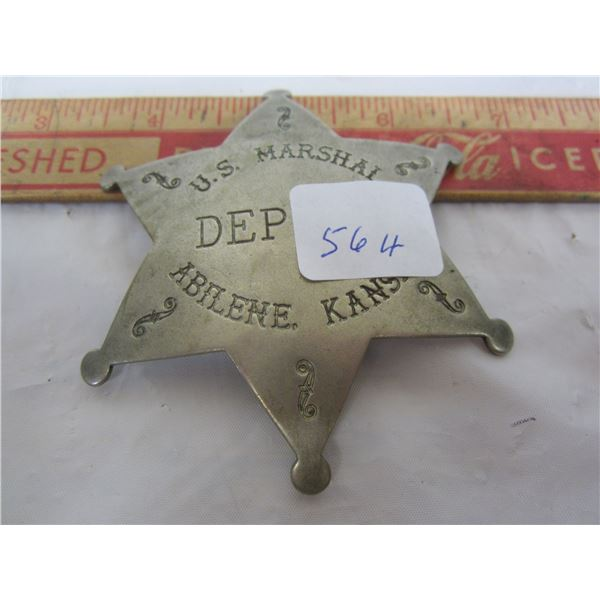 U.S. Deputy's Badge Abilene