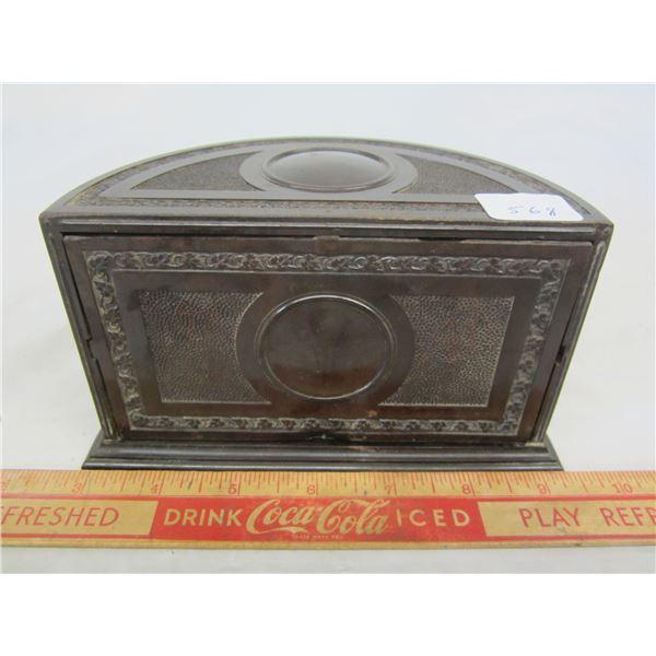 Antique Cigarette Humidor