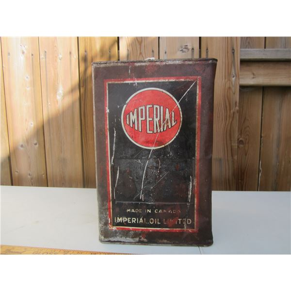 Imperial Oil Red Ball Large Rare Can