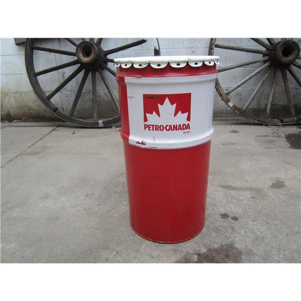 Petro Canada Drum Can
