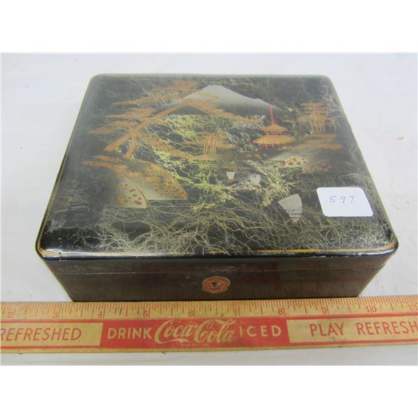 1950's Japanese Lacquer Stash Box